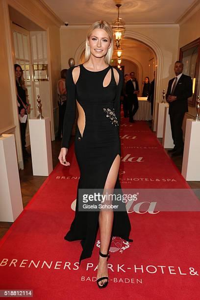 Lena Gercke during the Gala Spa Awards on April 2 2016 in BadenBaden Germany