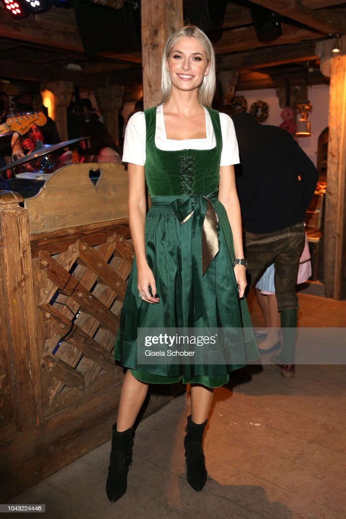 Lena Gercke During The Oktoberfest 2018 At Kaeferschaenke