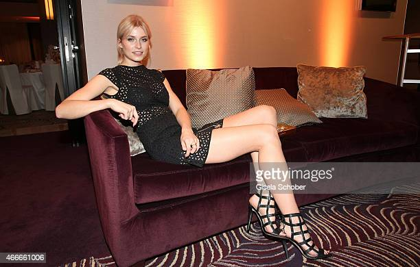 Lena Gercke during the PEOPLE Magazine Germany launch party at Waldorf Astoria on March 17 2015 in Berlin Germany