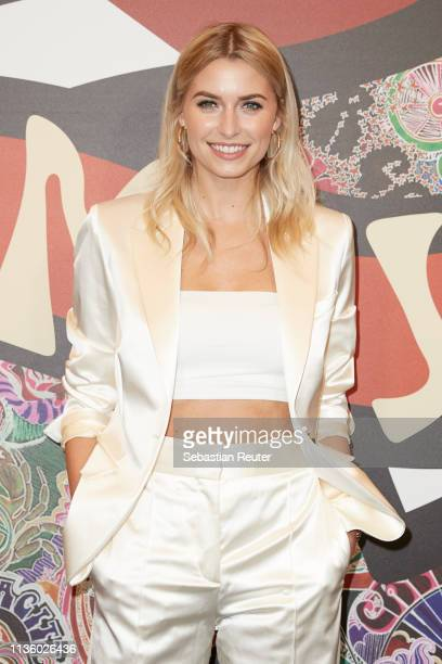 Lena Gercke poses during the 'TommyxZendaya' meet greet event at KaDeWe on March 15 2019 in Berlin Germany
