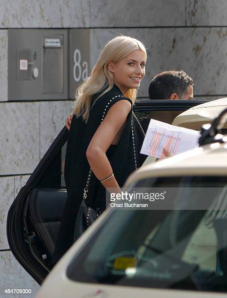 Lena Gercke sighted at SAT1 Television Studios on August 20 2015 in Berlin Germany