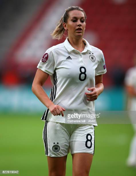Lena Goessling of Germany Women during the UEFA Women's Euro 2017 match between Russia and Germany at Stadion Galgenwaard on July 25 2017 in Utrecht...
