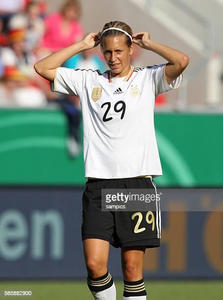 Lena Größling Goessling Frauenfussball Länderspiel Deutschland Nordkorea Korea DVR 20 am 21 5 2011