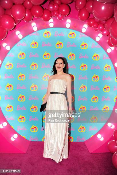 Lena Hall attends Barbie's 60th Anniversary at 505 Broadway on March 8, 2019 in New York City.