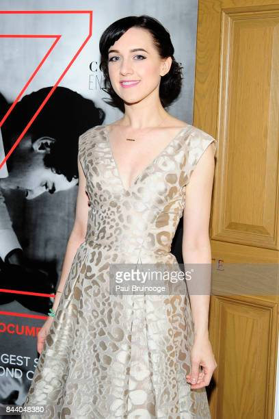 """Lena Hall attends Brooks Brothers with The Cinema Society host the premiere of """"House of Z"""" at Crosby Street Hotel on September 7, 2017 in New York..."""