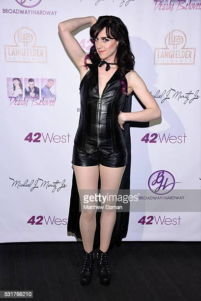 Lena Hall attends Dearly Beloved A Concert Tribute To Purple Rain at 42West on May 16 2016 in New York City