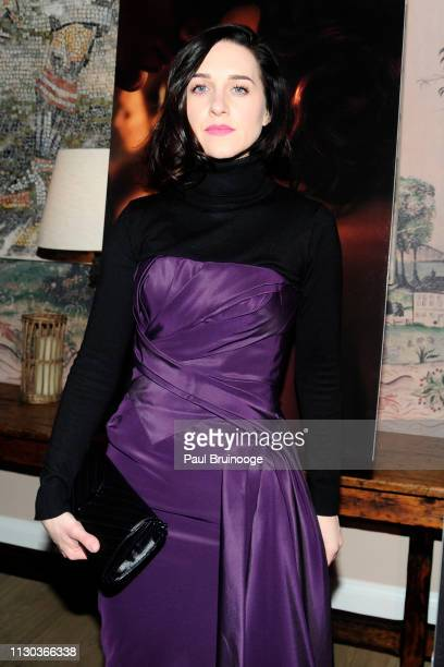 Lena Hall attends Fox Searchlight Pictures Hosts A Special Screening Of The Aftermath at The Whitby Hotel on March 13 2019 in New York City