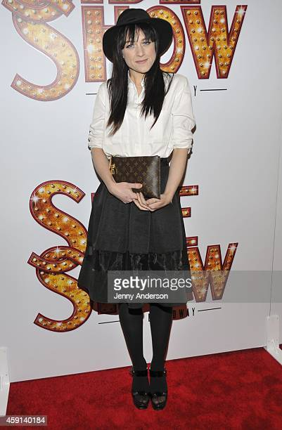 Lena Hall attends opening night of 'Side Show' on Broadway at the St James Theatre on November 17 2014 in New York City