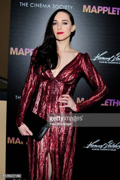 Lena Hall attends Samuel Goldwyn Films With The Cinema Society Host A Special Screening Of Mapplethorpe at Cinepolis Chelsea on February 14 2019 in...