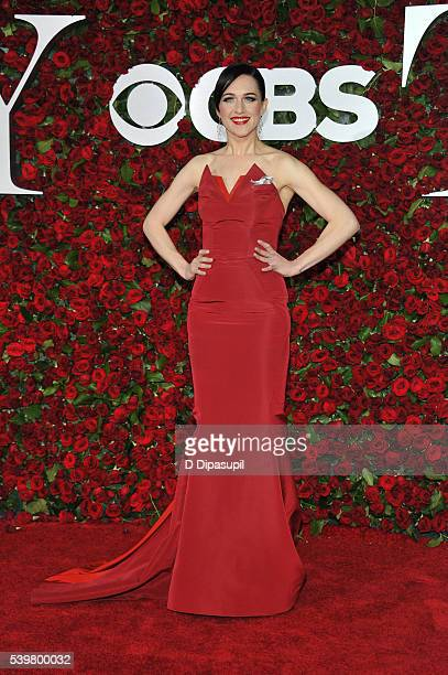 Lena Hall attends the 70th Annual Tony Awards at the Beacon Theatre on June 12 2016 in New York City