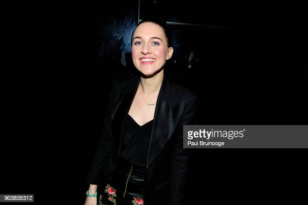 """Lena Hall attends The Cinema Society & Bluemercury host the after party for IFC Films' """"Freak Show"""" at Public Arts on January 10, 2018 in New York..."""
