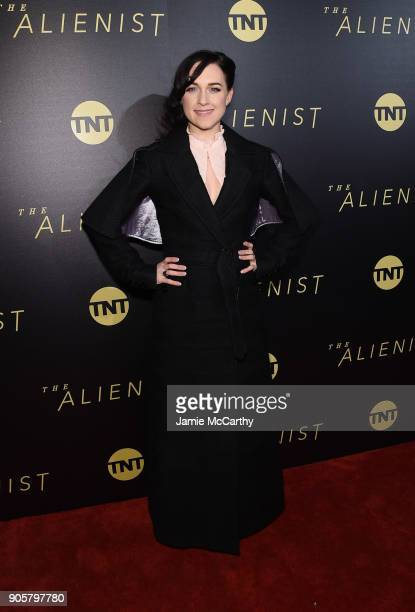 Lena Hall attends the premiere of TNT's 'The Alienist' at iPic Cinema on January 16 2018 in New York City