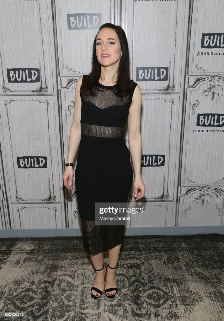 Lena Hall visits Build Series at Build Studio on March 15, 2018 in New York City.