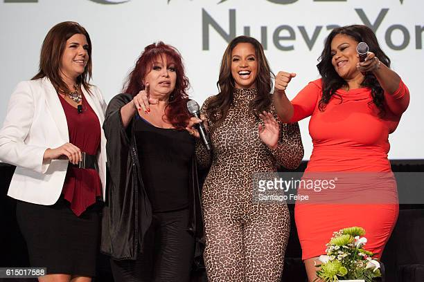 Lena Hansen, Iris Chacon, Dascha Polanco and Christina Mendez attend the 5th Annual Festival People en Espanol at The Jacob K. Javits Convention...