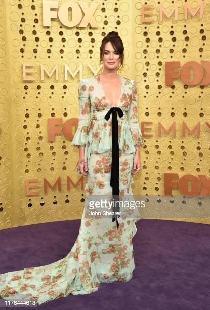 Lena Headey attends the 71st Emmy Awards at Microsoft Theater on September 22 2019 in Los Angeles California