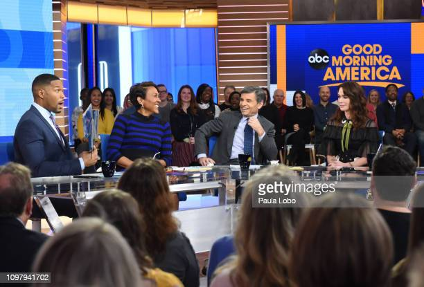 Lena Headey is a guest on Monday Feb 11 2019 on ABC's 'Good Morning America' 'Good Morning America' airs MondayFriday on ABC GM19 MICHAEL