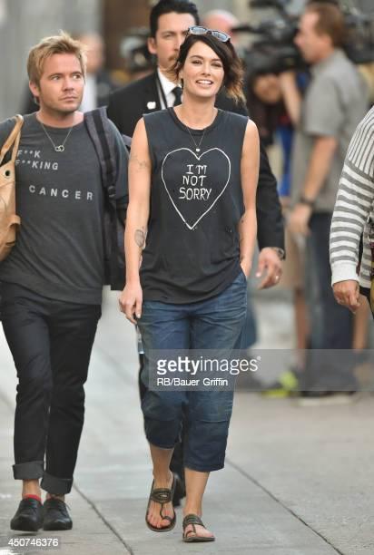 Lena Headey is seen on June 16 2014 in Los Angeles California