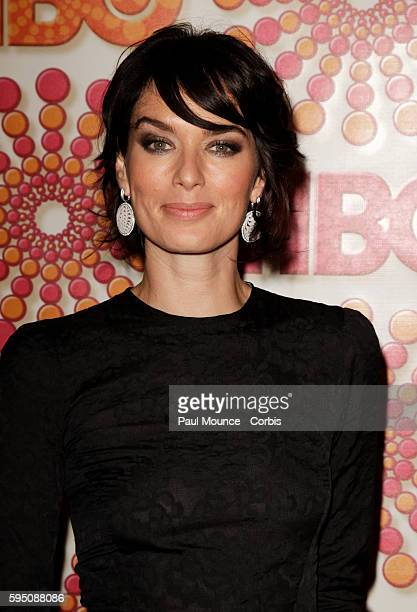 Lena Heady arrives at the HBO AfterParty held to honor the 63rd Primetime Emmy Awards