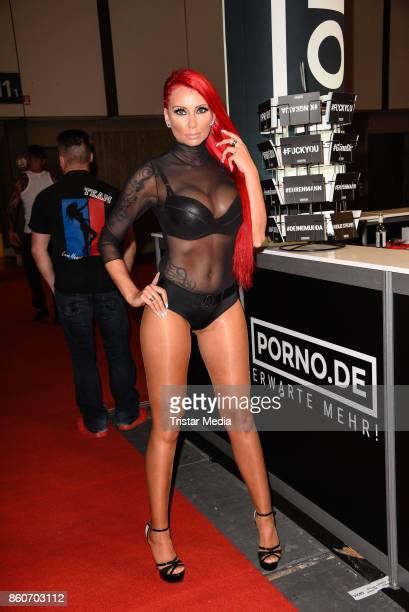 Lena Heart during the Venus Erotic Fair Opening 2017 on October 12 2017 in Berlin Germany