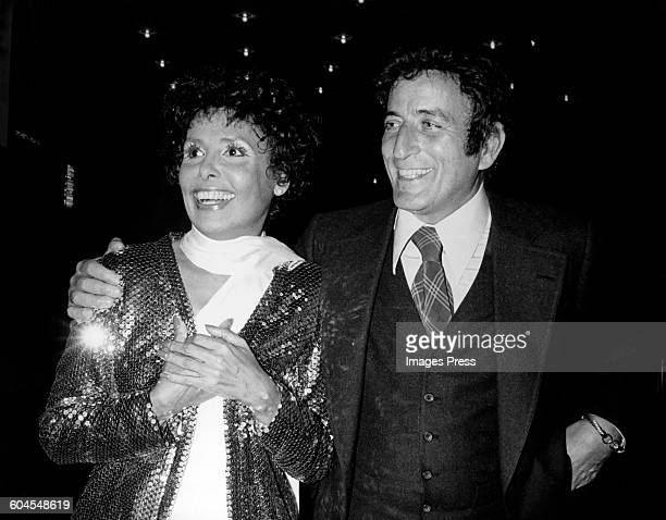 1970s: Lena Horne and Tony Bennett circa 1970s in New York City.