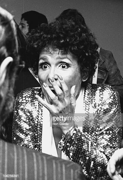 Lena Horne during Tony Bennett and Lena Horne Opening - October 30, 1974 at Uris Theater in New York City, New York, United States.