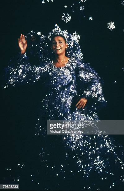 Lena Horne in a scene from the movie The Wiz in 1978 in New York New York The movie was directed by Sidney Lumet and produced by Universal Studios