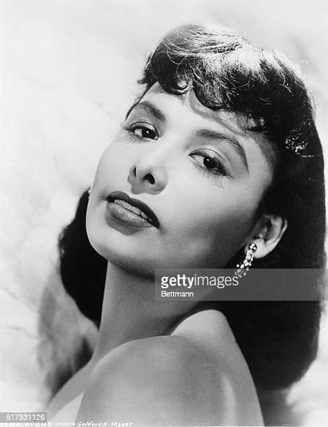 Lena Horne in undated publicity photograph from Metro Goldwyn Mayer.