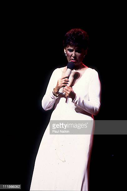 Lena Horne on 7/30/82 in Chicago Il