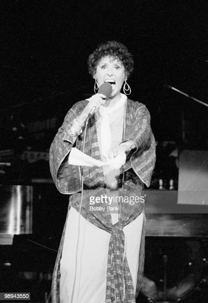 Lena Horne performs at the PNC on August 29. 1979 in Holmdel, New Jersey.