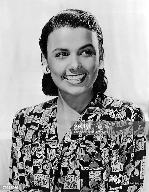 Lena Horne poses for a promotional shot for the film I Dood It' directed by Vincente Minnelli in 1943 in Los Angeles California