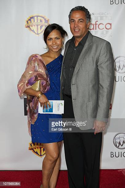 Lena Jones and William Jones appear on the red carpet for the 2nd Annual AAFCA Awards honoring their grandmother Lena Horne on December 13 2010 in...