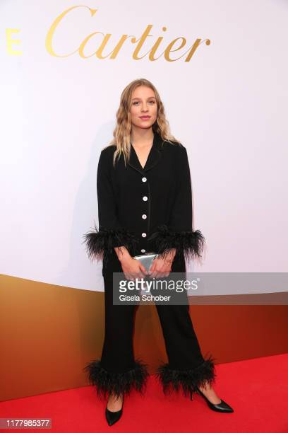Lena Klenke during the Clash de Cartier The Opera event at Eisbachstudios on October 24 2019 in Munich Germany