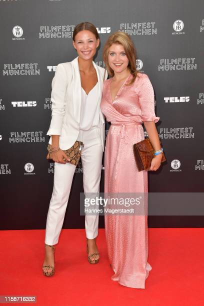 Lena Meckel and Lara Mandoki during the opening night of the Munich Film Festival 2019 at Mathaeser Filmpalast on June 27 2019 in Munich Germany