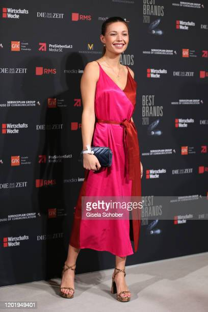 Lena Meckel during the Best Brands Award 2020 at Hotel Bayerischer Hof on February 19 2020 in Munich Germany