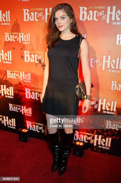 Lena Melcher attends the Gala Night after party for 'Bat Out Of Hell The Musical' at the Bloomsbury Ballroom on April 19 2018 in London England