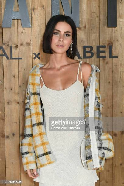 Lena Meyer Landrut attends the L'Oreal X Isabel Marant Party as part of the Paris Fashion Week Womenswear Spring/Summer 2019 at Jardin des Tuileries...