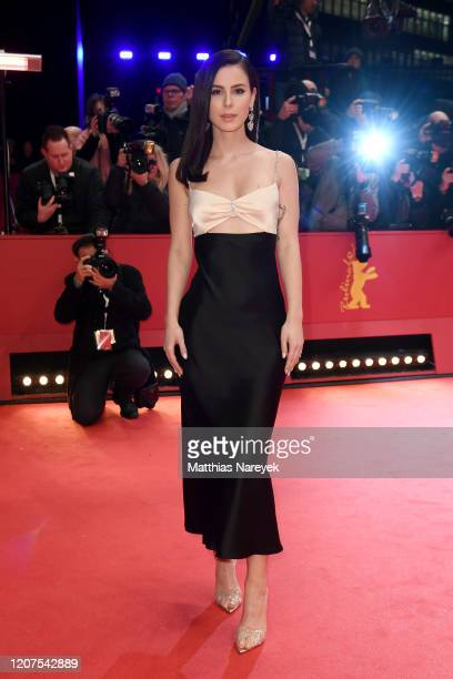 Lena MeyerLandrut arrives for the opening ceremony and My Salinger Year premiere during the 70th Berlinale International Film Festival Berlin at...