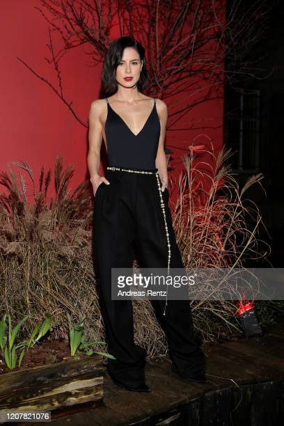 Lena MeyerLandrut at the L'Oreal Paris Bar Room No 311 during the 70th Berlinale International Film Festival Berlin at Alte Muenze on February 21...