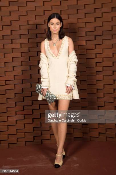 Lena MeyerLandrut attends the Chanel Collection Metiers d'Art Paris Hamburg 2017/18 at The Elbphilharmonie on December 6 2017 in Hamburg Germany