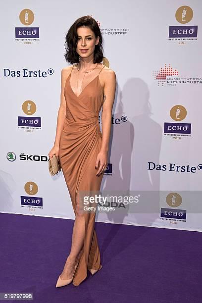 Lena MeyerLandrut attends the Echo Award 2016 on April 7 2016 in Berlin Germany