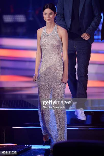 Lena MeyerLandrut attends the 'Eurovision Song Contest 2017 Unser Song' show on February 9 2017 in Cologne Germany