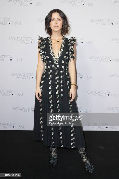 Lena MeyerLandrut attends the exclusive dinner and exhibition of the Giambattista Valli x HM Collection at Elisabethkirche on November 06 2019 in...