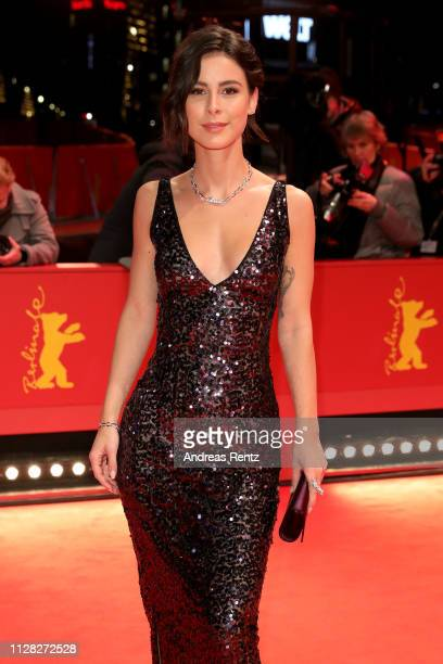 Lena MeyerLandrut attends the Grace A Dieu premiere during the 69th Berlinale International Film Festival Berlin at Berlinale Palace on February 08...