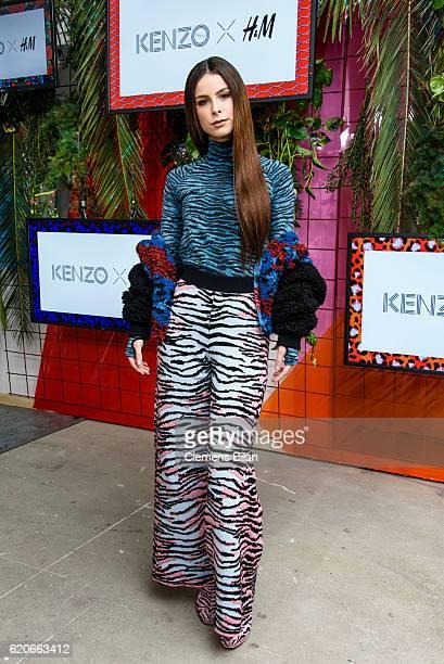 Lena MeyerLandrut attends the KENZO x HM PreShopping Event on November 2 2016 in Berlin Germany