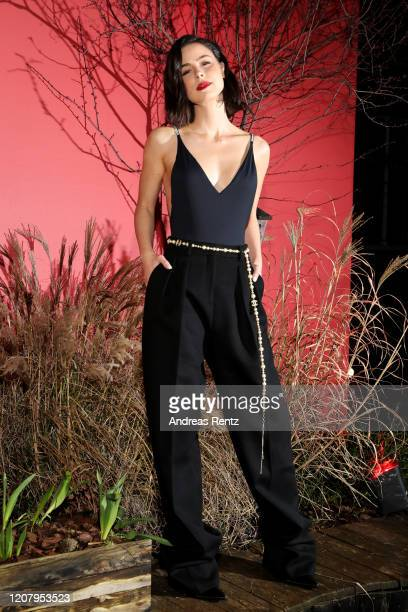 Lena MeyerLandrut attends the L'Oreal Paris Bar Room No 311 during the 70th Berlinale International Film Festival Berlin at Alte Muenze on February...