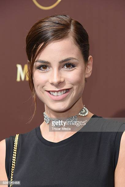 Lena MeyerLandrut attends the Magnum Chocolate Hour At Magnum Pleasure Store on June 09 2016 in Berlin Germany