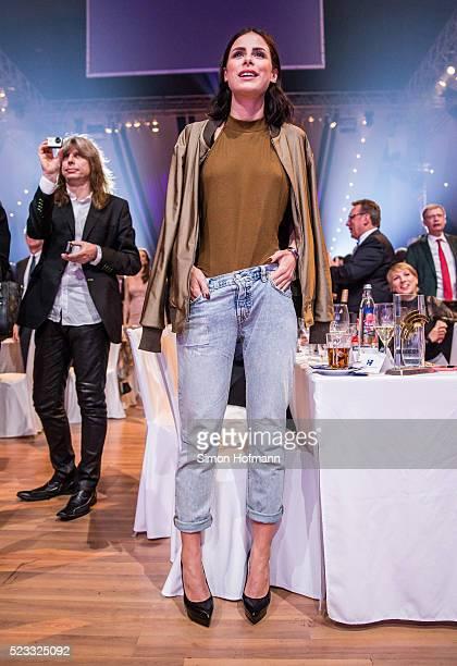 Lena MeyerLandrut attends the Radio Regenbogen Award 2016 at Europapark on April 22 2016 in Rust Germany
