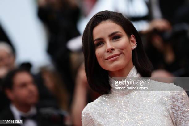 Lena MeyerLandrut attends the screening of Les Plus Belles Annees D'Une Vie during the 72nd annual Cannes Film Festival on May 18 2019 in Cannes...