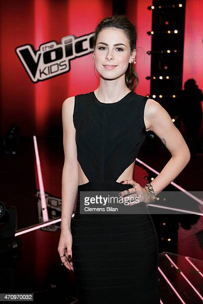 Lena MeyerLandrut attends the 'The Voice Kids' Finals on April 24 2015 in Berlin Germany