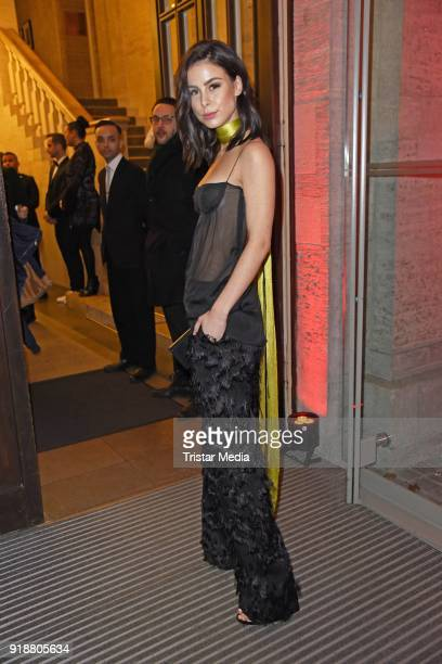 Lena MeyerLandrut during the Berlin Opening Night by GALA and UFA Fiction at Das Stue on February 15 2018 in Berlin Germany
